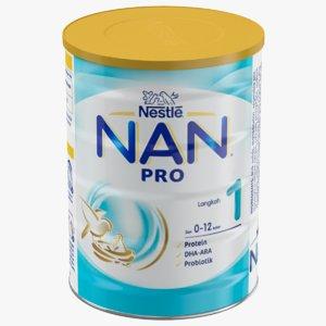 3D nan baby milk model