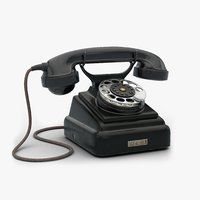 USSR Rotary Dial Telephone