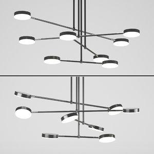 design maytoni chandelier 3D