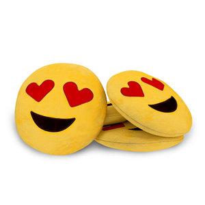 3D emoji cushion smile