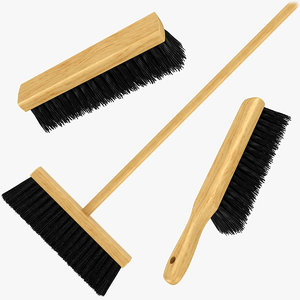 cleaning brush set 3D model