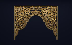 carved classic 3D