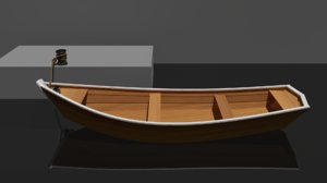 3D boat rope model