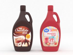 3D great value syrup