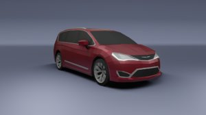 chrysler pacifica 2020 3D model