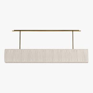 frato ceiling lamp nimes 3D model