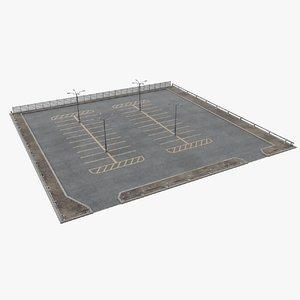 parking open model