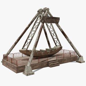 ship pirate 3D model