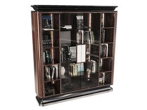 majestic bookcase bellotti ezio 3D model