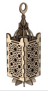 3D model arabesque wood