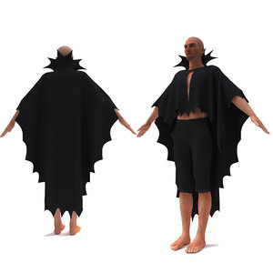 character clothing fashion 3D