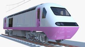 3D locomotive train class 43