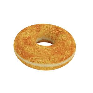 food donut 3D model