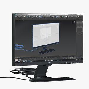 3D benq bl2283 monitor model