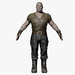 character male 3D