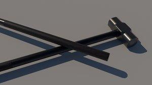 3D knight hammer