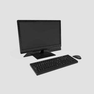 pbr desktop pc 3D
