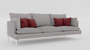 contemporary sofa 4k model