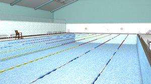 swimming pool model