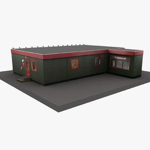 european building 45 3D model