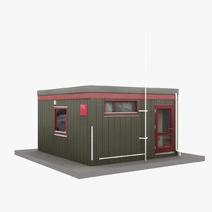 european building 46 3D