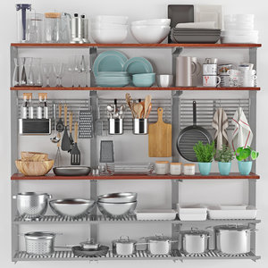 3D model kitchenware tableware 16