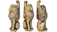 Baluster 1 lion post stairs