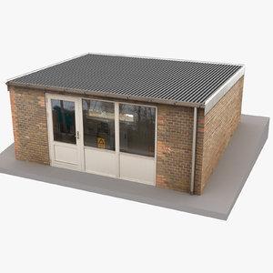 european building 49 3D model