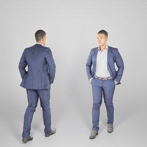 photogrammetry human handsome man 3D