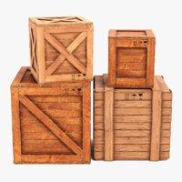 Wooden Crates 1