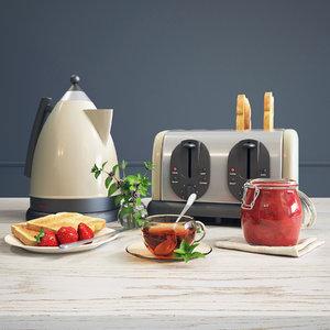 toast toaster jam 3D