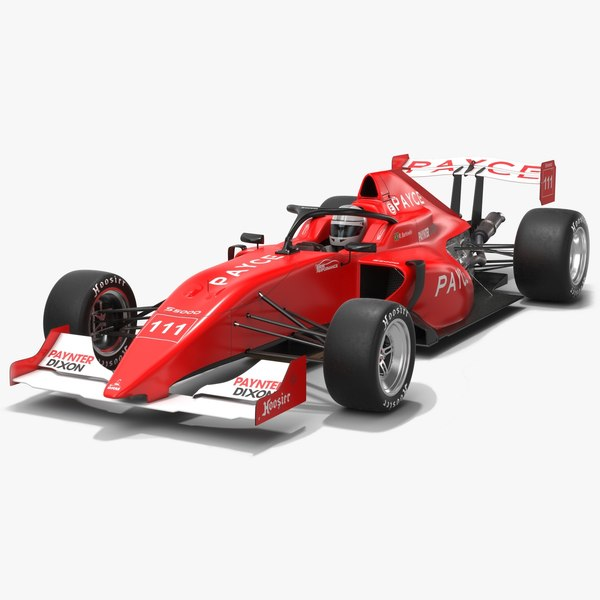 australian s5000 championship race car 3D model