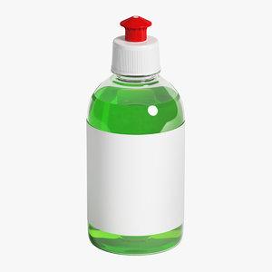 3D model bottle 300 ml
