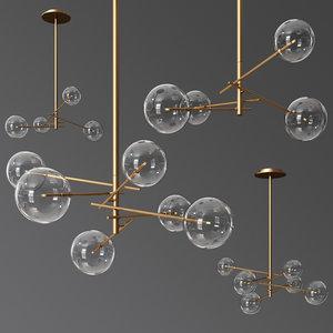 3D model bolle light