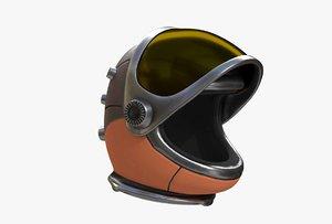 3D space helmet model
