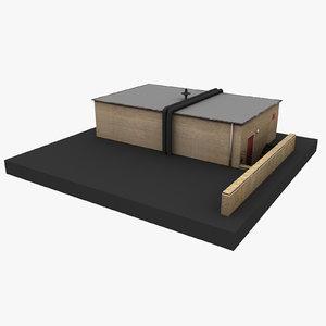 european building 55 3D model