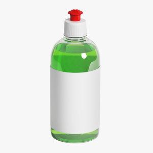 3D bottle 500 ml