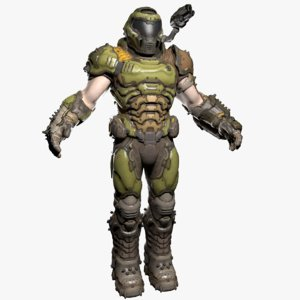 doom slayer 3D