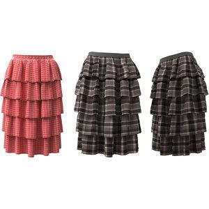 3D model skirt