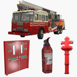 3D door extinguisher