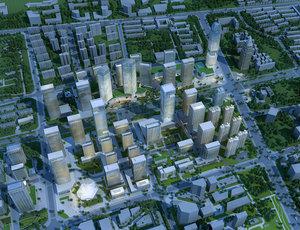 university block 3D model