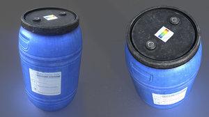 water barrel model