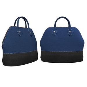 leather handbag 3D