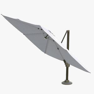 challenger parasol outdoor 3D model