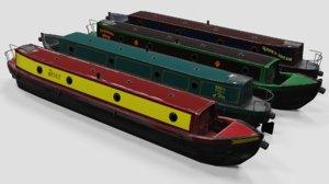 narrow boat model