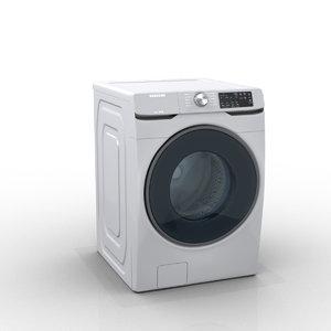 3D model samsung smart washer
