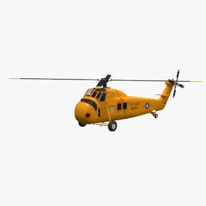 sikorsky h-34 3D