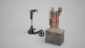 3D iron weighing water