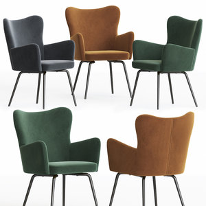 3D la redoute luxore dining chair