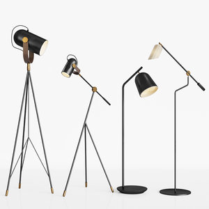 pliverre floor lamp 3D